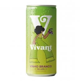 Vinho Vivant Branco Lata 269ml