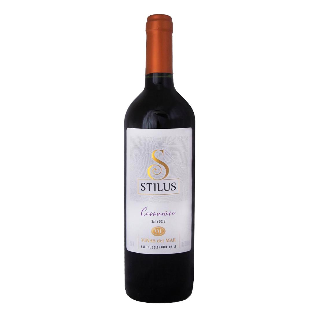 Viñas Del Mar Stilus Carmenère 750 ml