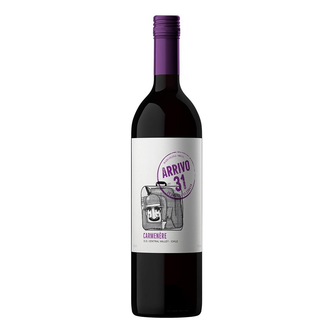 Vinho Arrivo 31 Carmenere 750ml