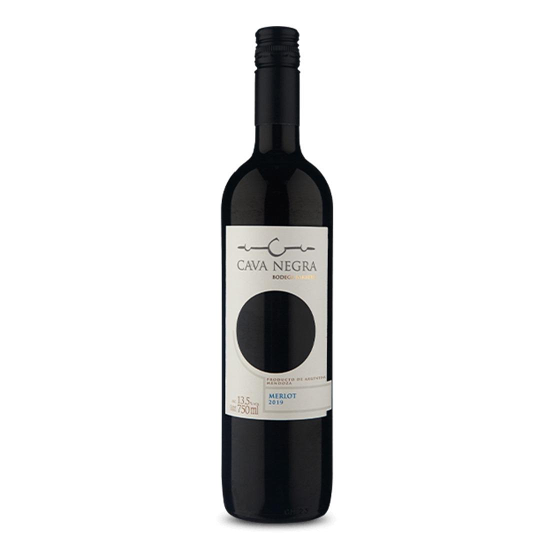 Vinho Cava Negra Merlot 750ml
