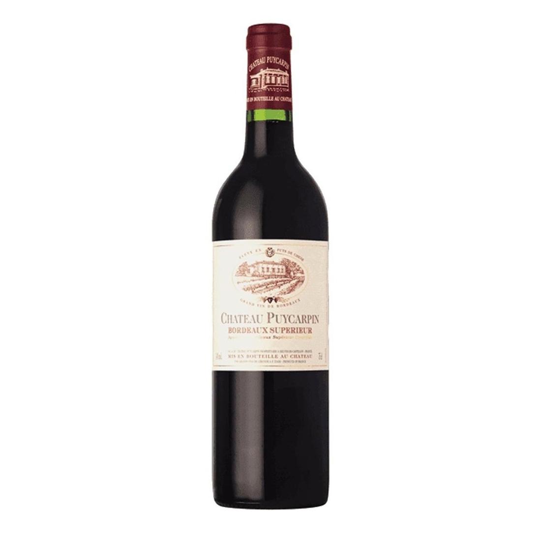 Vinho Chateau Puycarpin Bordeaux 750ml