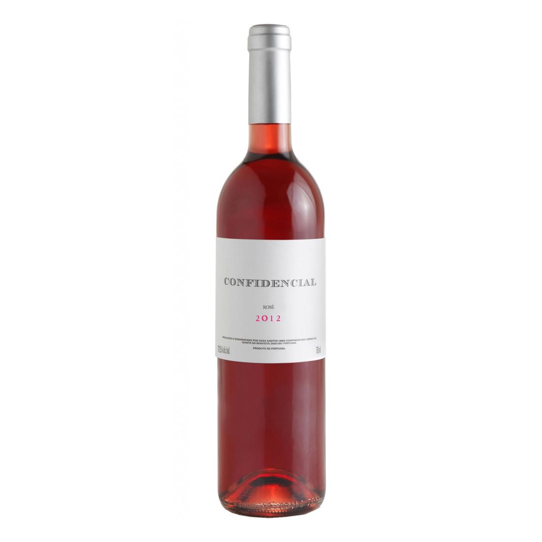 Vinho Confidencial Rosé 750 ml