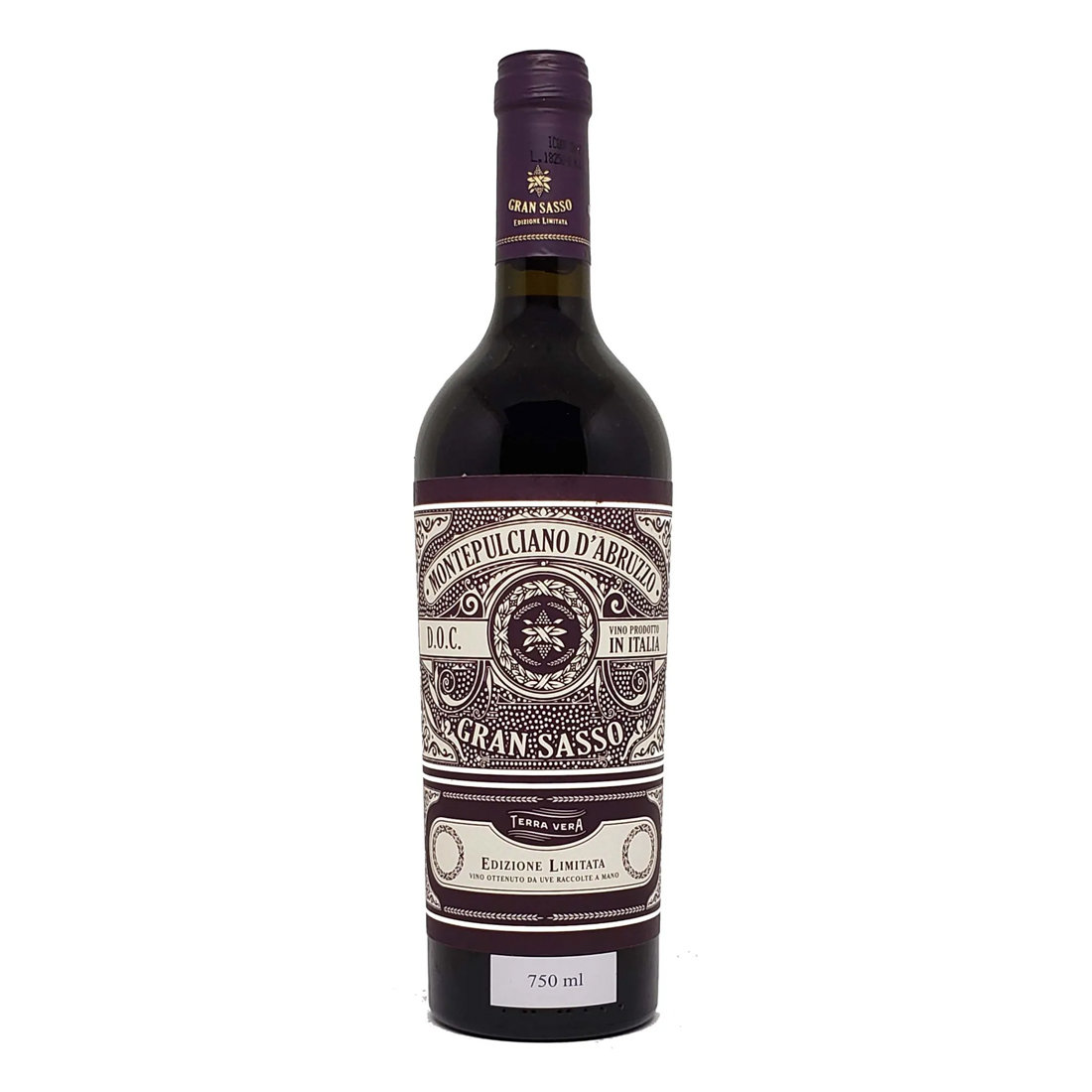 Vinho Gran Sasso Montepulciano D'abruzzo DOC 750 ml