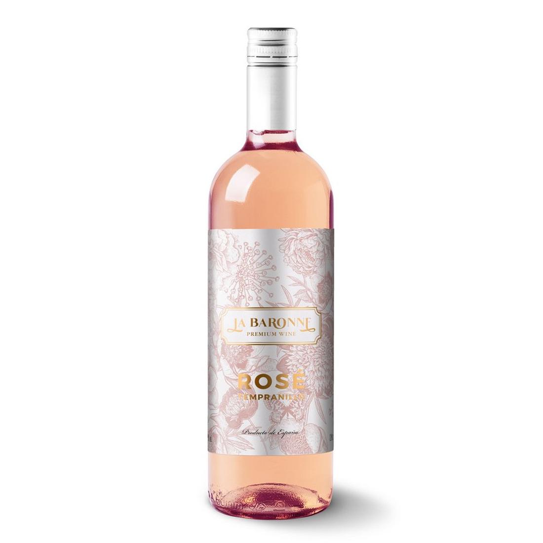 Vinho La Baronne Tempranillo Rosé 750 ml