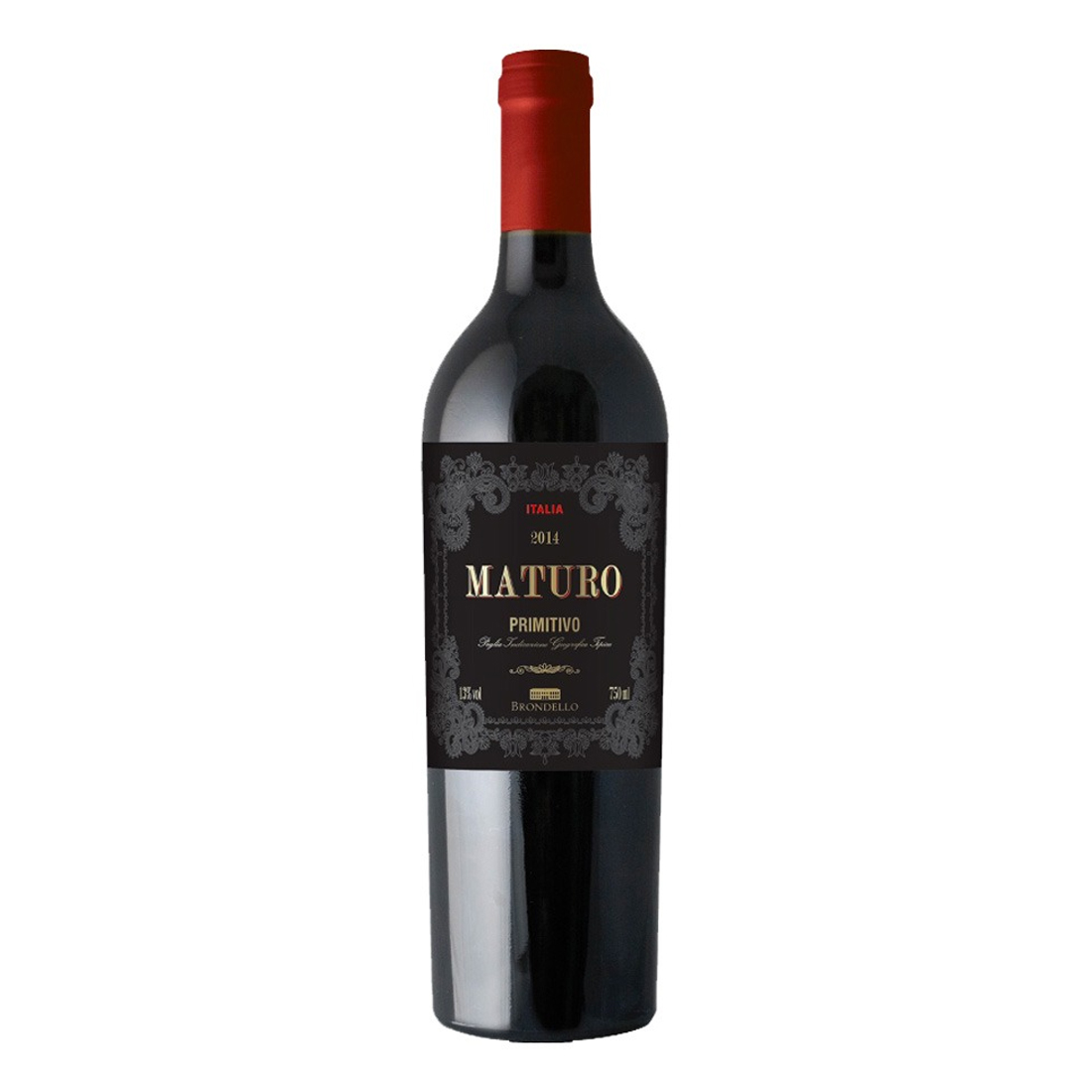 Vinho Maturo Primitivo IGT 750 ml