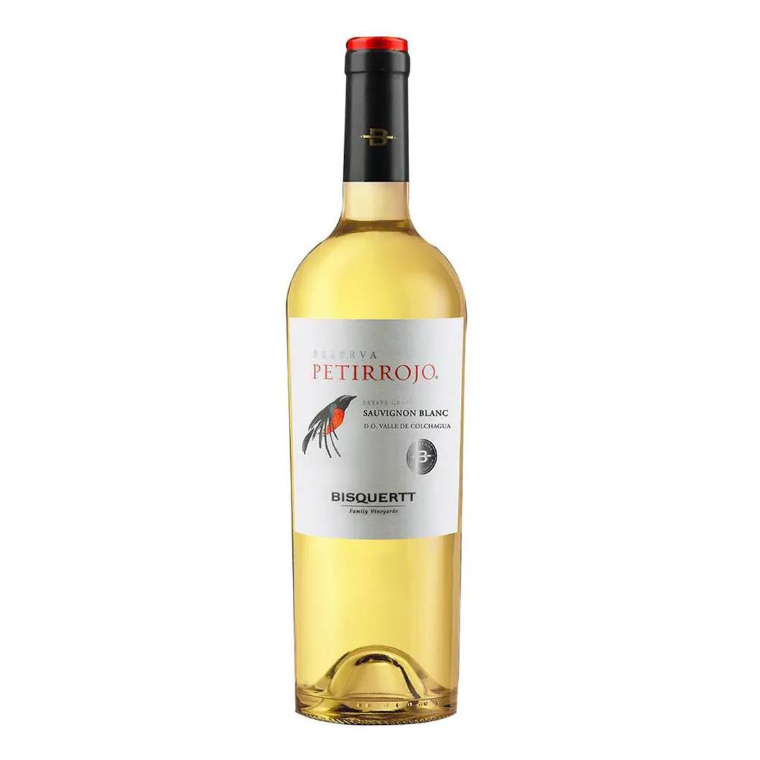 Vinho Petirrojo Bisquertt Reserva Sauvignon Blanc 187ml