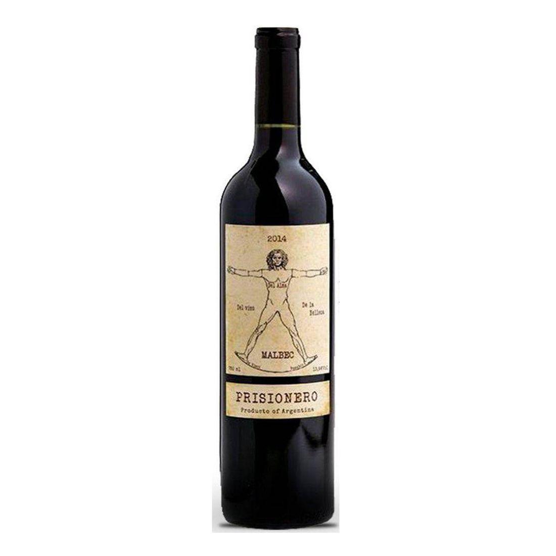 Vinho Prisionero Malbec 750 ml