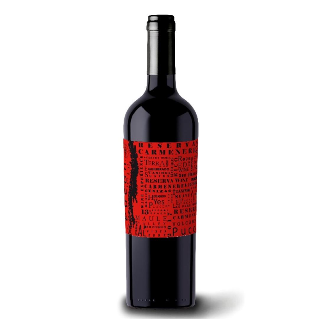 Vinho Pucon Reserva Carmenère 750 ml