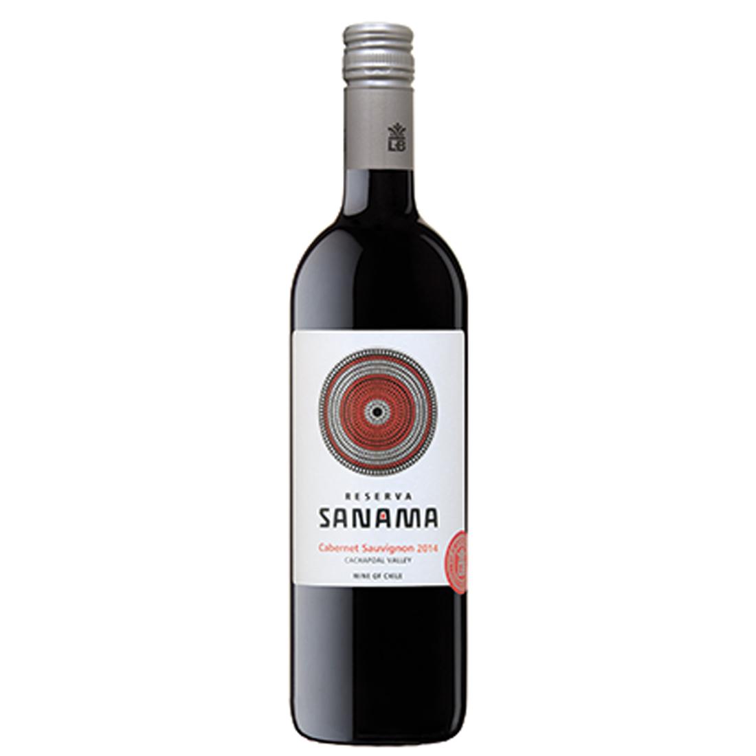 Vinho Sanama Reserva Carbenet Sauvignon / Syrah 750 ml