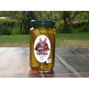 Conserva de QUIABO com pimenta Murupi 350 gr