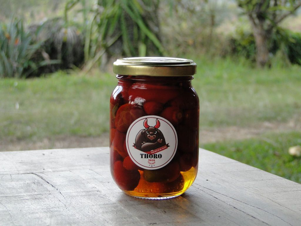 Conserva de pimenta JALAPEÑO pote 250 gr