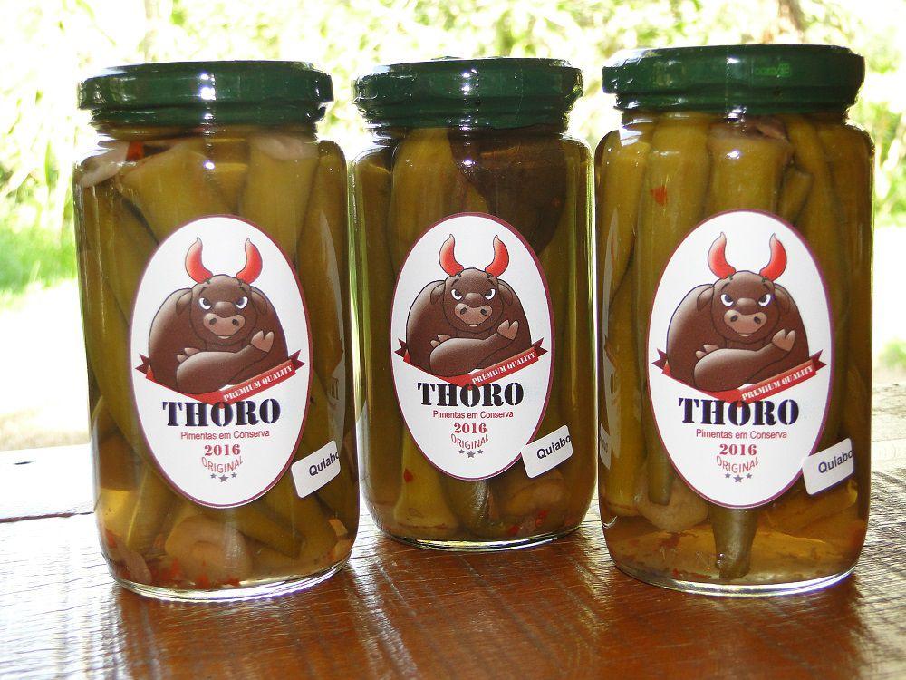 Conserva de Quiabo com Pimenta 3 unidades