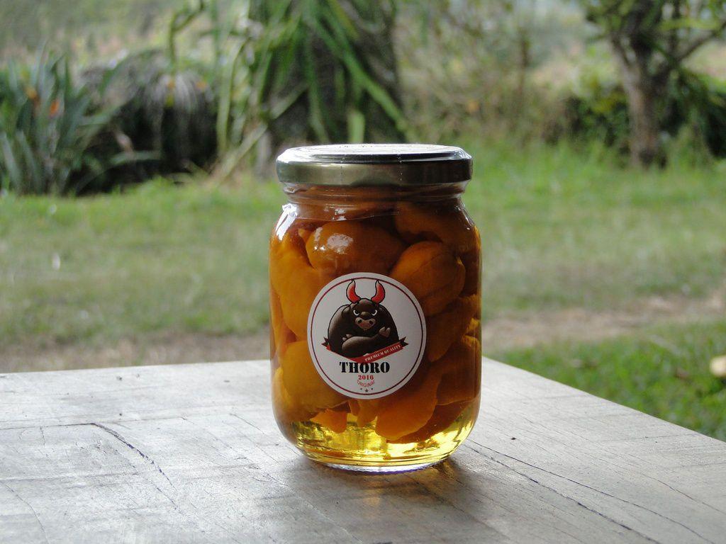 Pimenta Bhut Jolókia Fatalli na conserva