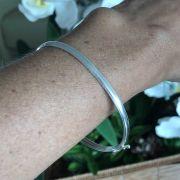 Bracelete de Prata 925 Liso