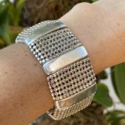 Bracelete de Prata 950 Artena Largo