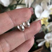 Brinco Prata 925 Argolinha Segundo Furo 0,5cm