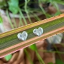 Brinco de Prata 925 Coração Gordinho 7mm