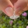 Pingente de Prata 925 Espírito Santo Pequeno 1,4cm