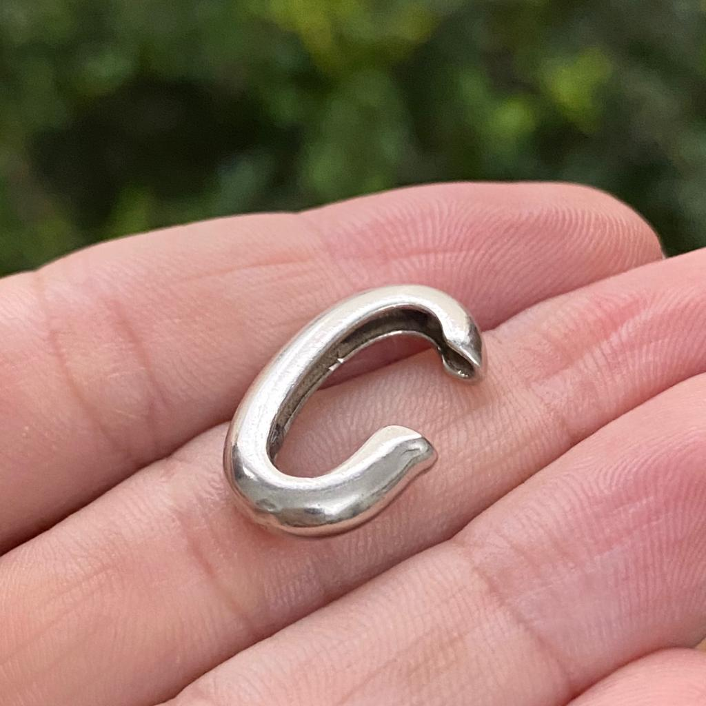 Brinco de Prata 925 Ear Hook Artena encaixe