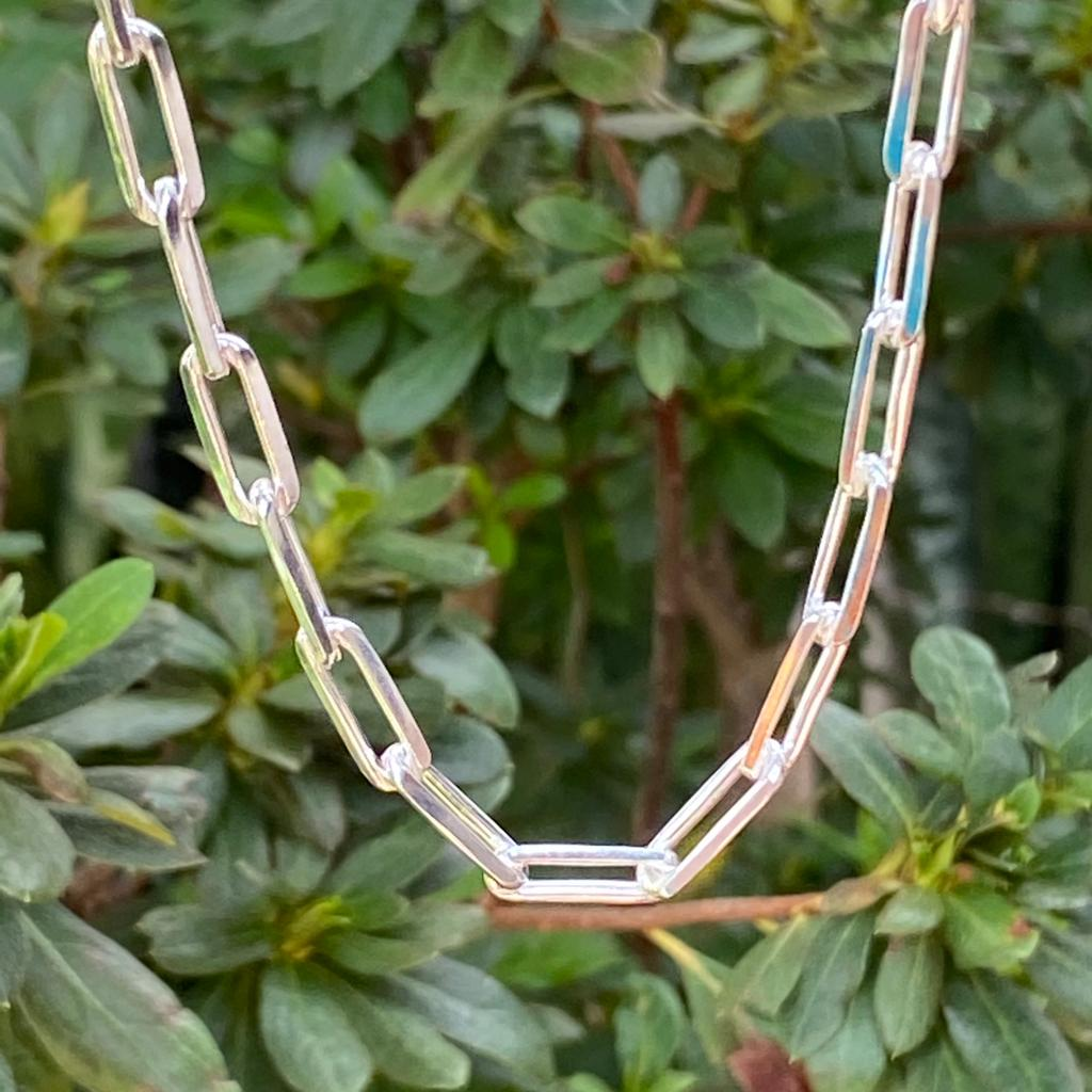 Corrente de Prata 925 Cartier 60cm 5,4mm