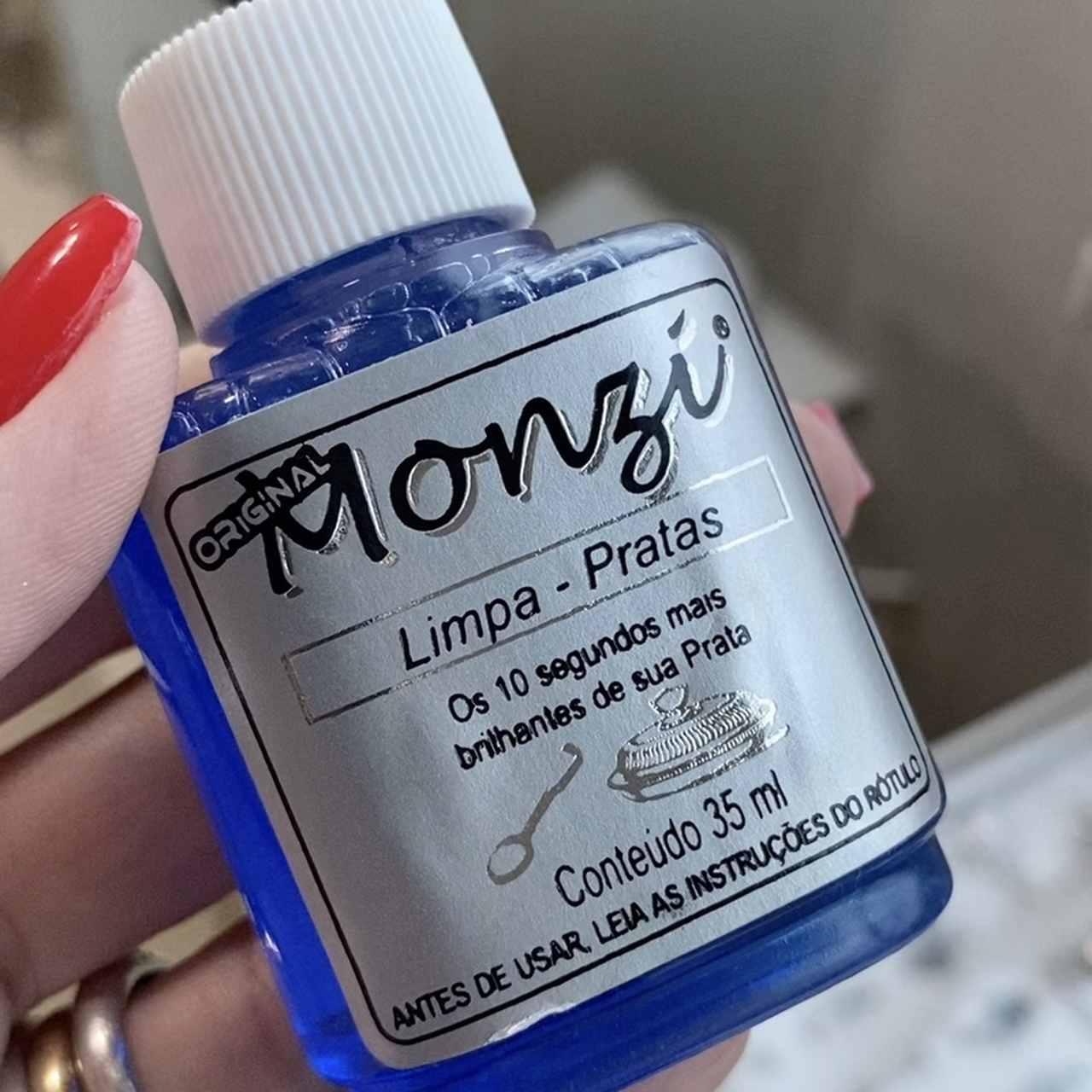 Limpa Prata Monzi 35 ml