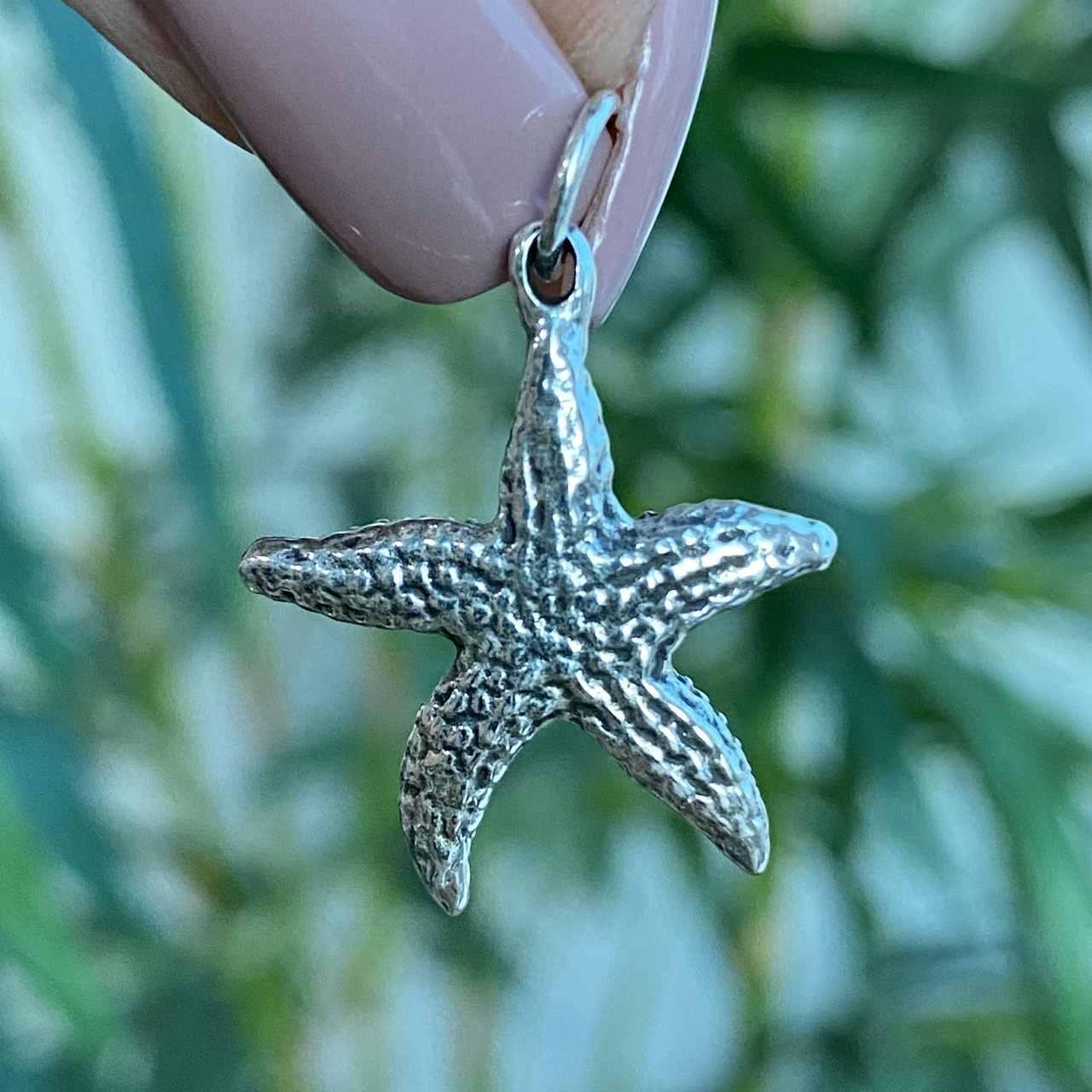 Pingente de Prata 925 Estrela do Mar 2,5cm
