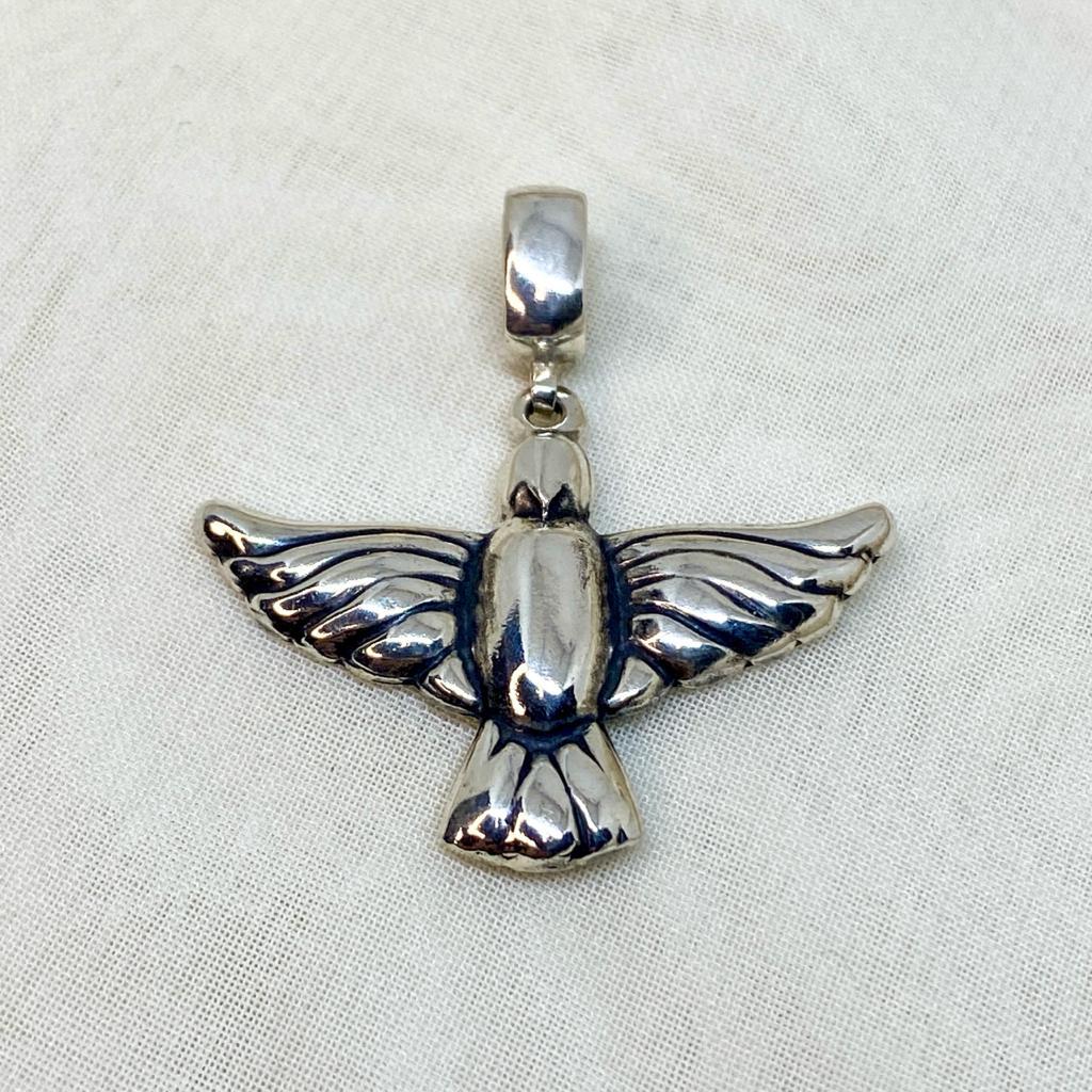 Pingente de Prata 950 Espírito Santo Artena