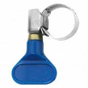 Abraçadeira com Borboleta - Aço Inox - 08mm-12mm