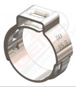 Abraçadeira Radial - Inox - 15.7mm