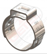 Abraçadeira Radial - Inox - 16.6mm