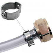 Abraçadeira Radial - Inox - 16,6mm - 18,5mm