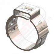 Abraçadeira Radial - Inox - 18.5 mm