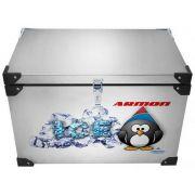 Caixa Térmica Armon 70 Litros - Inox Interno e Externo