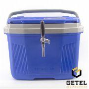 Chopeira a Gelo 1 Via - Termolar Azul - Torneira Italiana Cromada