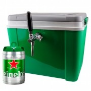 Chopeira a Gelo Portátil para Barril Heineken