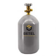 Cilindro de Gás Carbônico CO2 - Novo - Total 03 kg