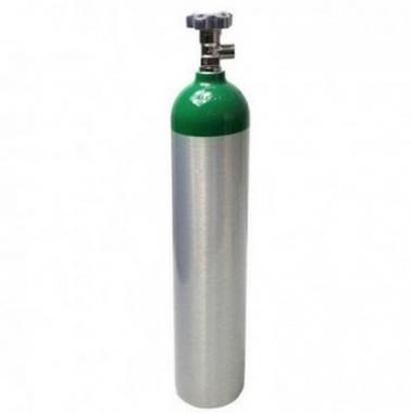 Cilindro de Oxigênio O2 - Alumínio - 0,4 m3/2,8 L