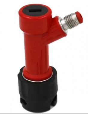 """Conector Pin-Lock para Líquido (3 Pinos) - Rosca 7/16"""""""