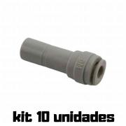 "DMFIT - Adaptador - (Redutor - Tubo 3/16"" x Pino 3/8"") - ARD 0306 - Pacote 04 Unidades"