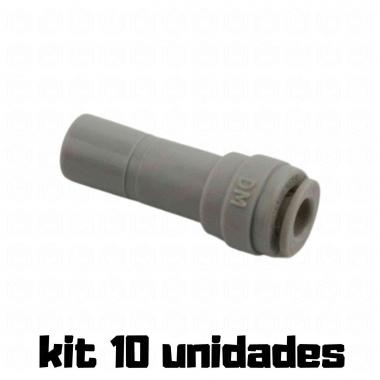 "DMFIT - Adaptador - (Redutor - Tubo 3/16"" x Pino 3/8"") - ARD 0306 - Pacote 10 Unidades"