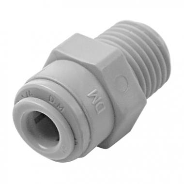"DMFIT - Rosca Macho - (Tubo 1/4"" X Npt 1/2"") - AMC 0407 - Pacote 04 Unidades"