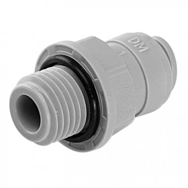 "DMFIT - Rosca Macho - (Tubo 3/8"" x Bsp 3/8"") - AMCB 0606 - Pacote 04 Unidades"
