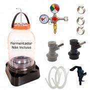 Kit Extração e Carbonatação para Fermentador IzziBeer