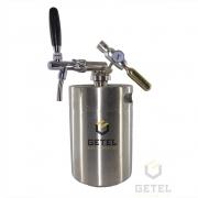 Kit Mini-Keg (Growler) c/ Torneira Italiana - 05 Litros