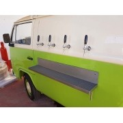 Kit p/ Beer Truck - 04 Vias - Torneira Italiana