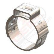 Pacote 50 Unidades - Abraçadeira Radial - Inox - 19.8 mm