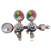 Regulador de Pressão CO2 (Duplo) - Válvula esfera
