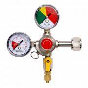 Regulador de Pressão CO2 (HBS - 1 Saída) - Válvula Esfera