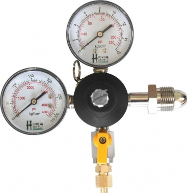Regulador de Pressão N2/Mistura (HBS - 1 Saída) - Válvula Esfera