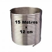 Serpentina Chopeira Cerveja Artesanal - Aluminio - 15 Metros x 12 cm